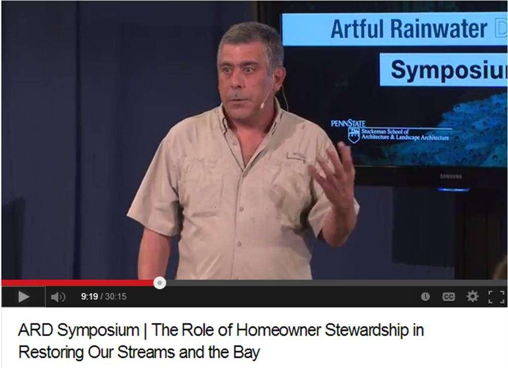 Homeowner Stewardship TED Talk